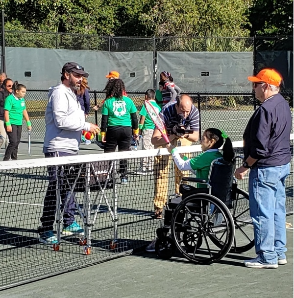 Special Olympics at the Tennis Club